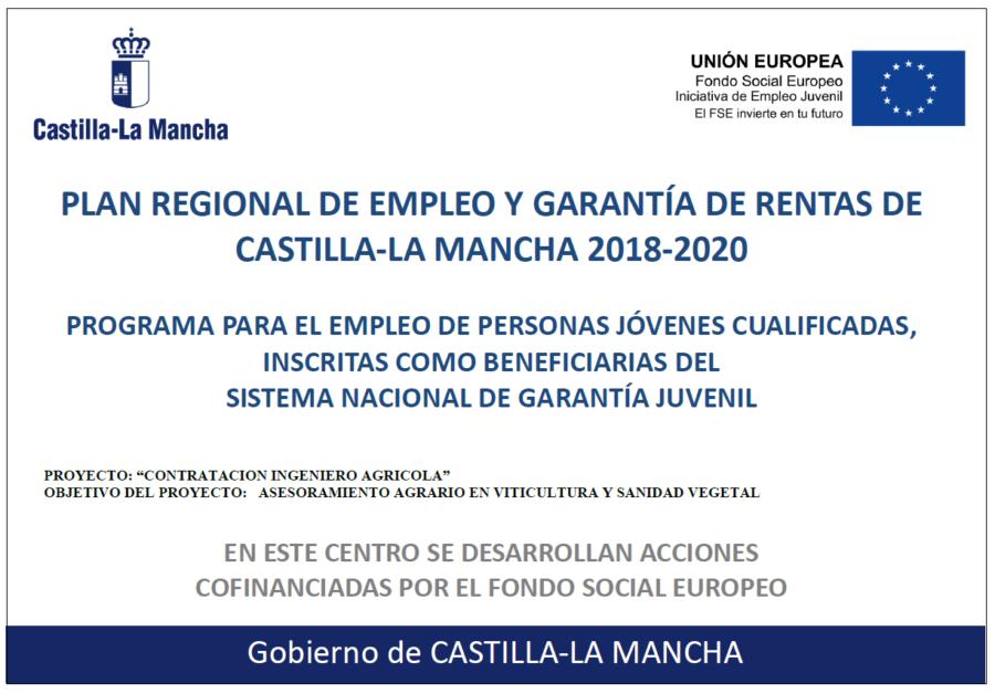 Plan Regional de Empleo y Garantía de Rentas de Castilla La Mancha 2018-2020