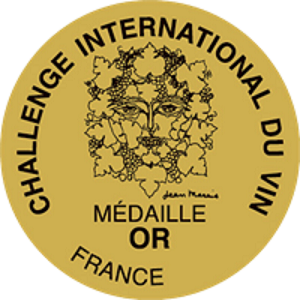 Medalla de Oro en Challenge International du Vin 2021